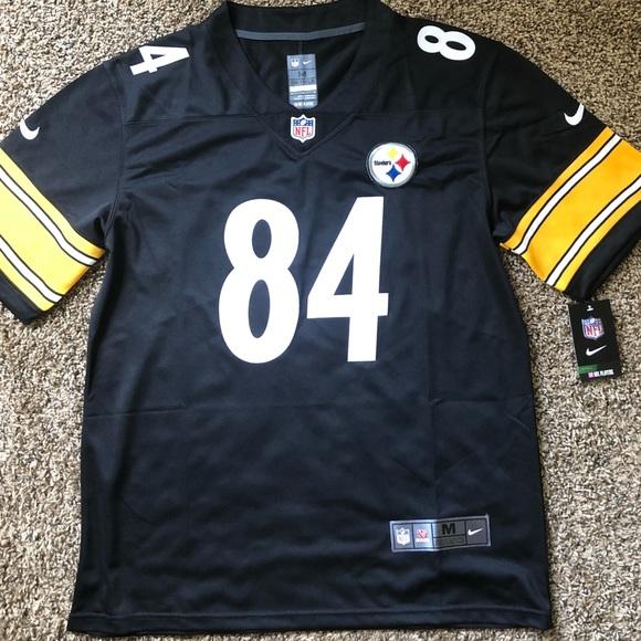 7bfca800130 Pittsburgh Steelers Antonio Brown Vapor Jersey. NWT. Nike